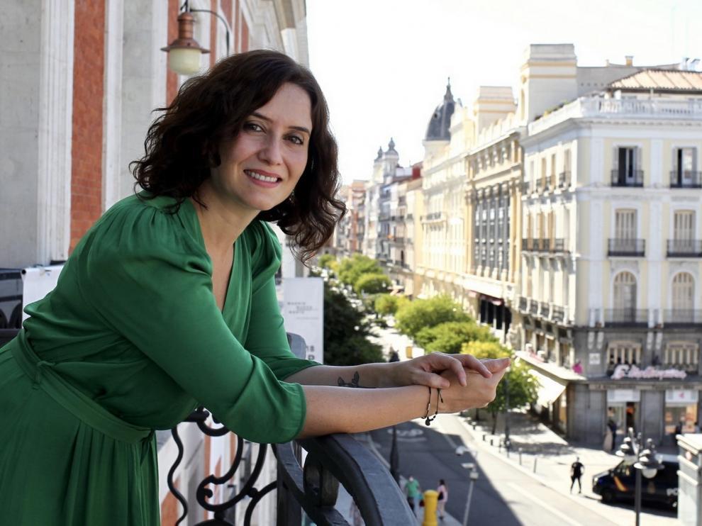 """Isabel Díaz Ayuso: """"Hay que cuidar lo que se dice de Madrid: es marca España"""""""
