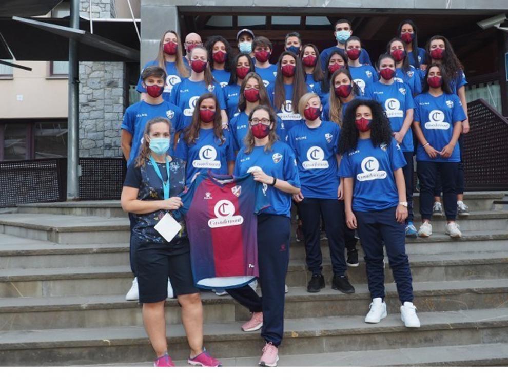Fin de semana del Huesca femenino en Benasque