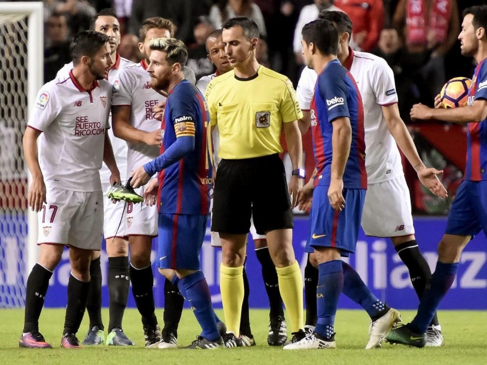 Santiago Jaime Latre, un árbitro de Primera