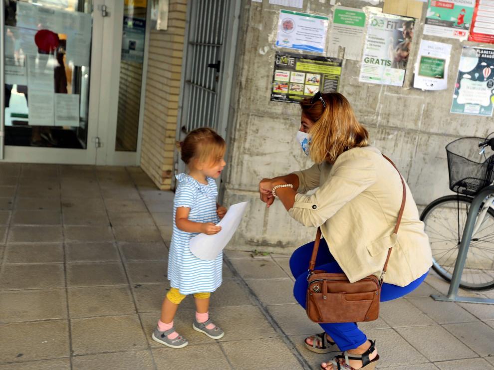 Vuelta al cole en la provincia de Huesca.