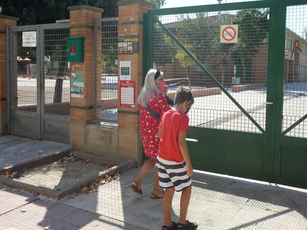 Los alumnos de Educación Infantil de la provincia de Huesca abren este lunes un curso escolar de incertidumbre