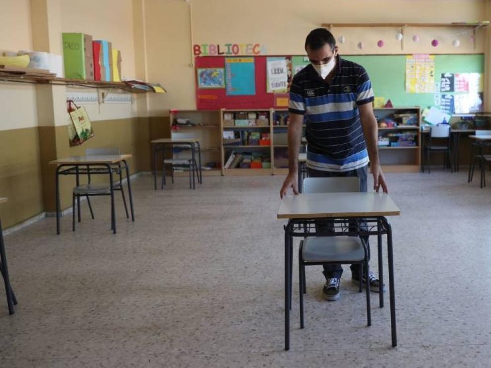 La vuelta al cole más atípica llega en España sin todos los profesores prometidos
