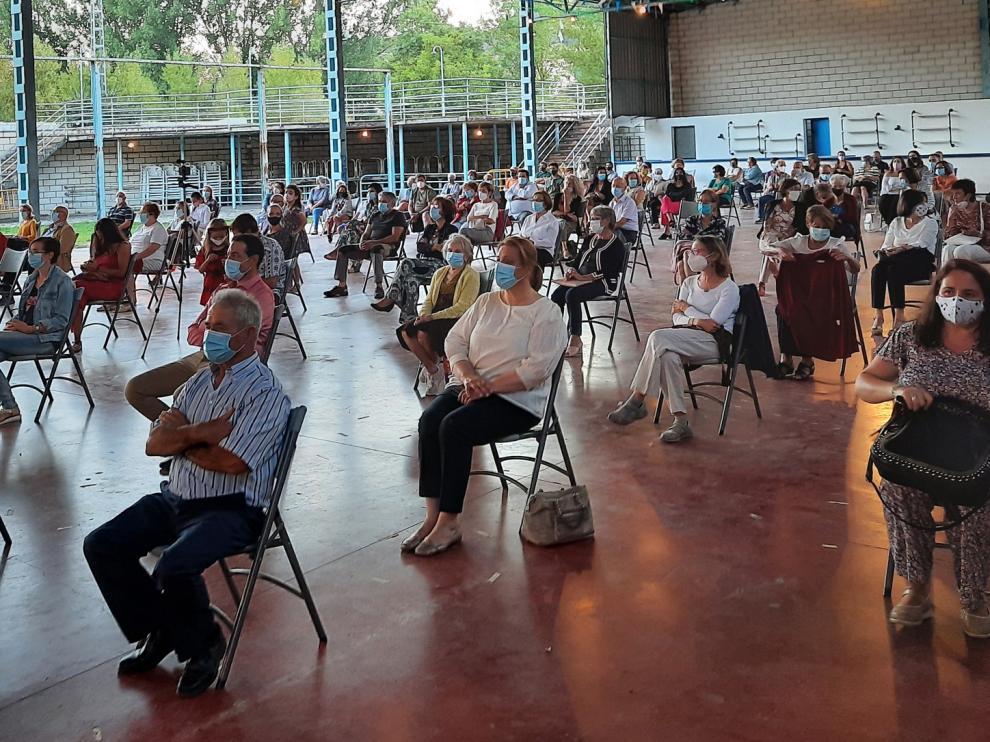 La Banda de la Asociación Gradense hace vibrar a los grausinos