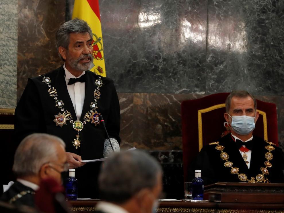 Lesmes reprende a los partidos por bloquear el Consejo General del Poder Judicial y pide una renovación