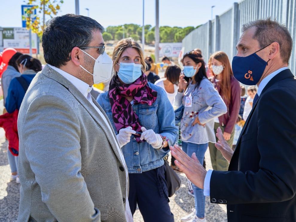 Ciudadanos y Partido Popular critican la falta de aulas prefabricadas en algunos centros aragoneses
