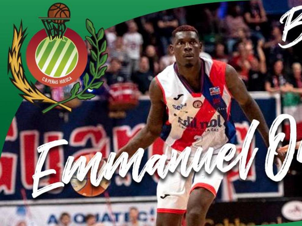 Emmanuel Omogbo cierra la plantilla de Levitec Huesca