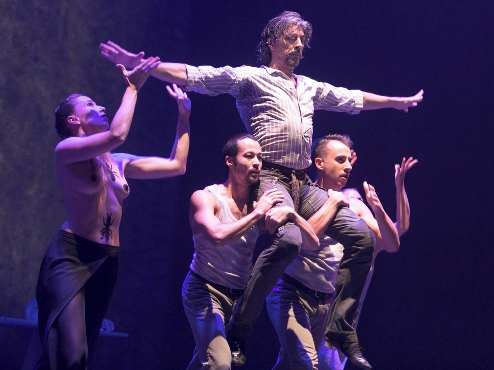 Miguel Ángel Berna inaugura la nueva temporada en el Teatro Principal de Zaragoza