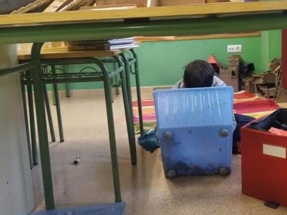 El Colegio de Miralsot de Fraga pone en marcha la escolarización de niños de dos años