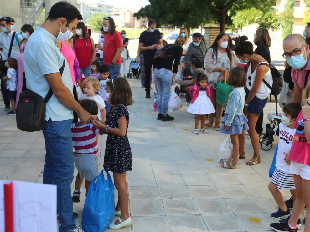 La conciliación, los madrugadores y la limpieza en los centros, lo que más preocupa a las familias en el inicio del curso en Huesca