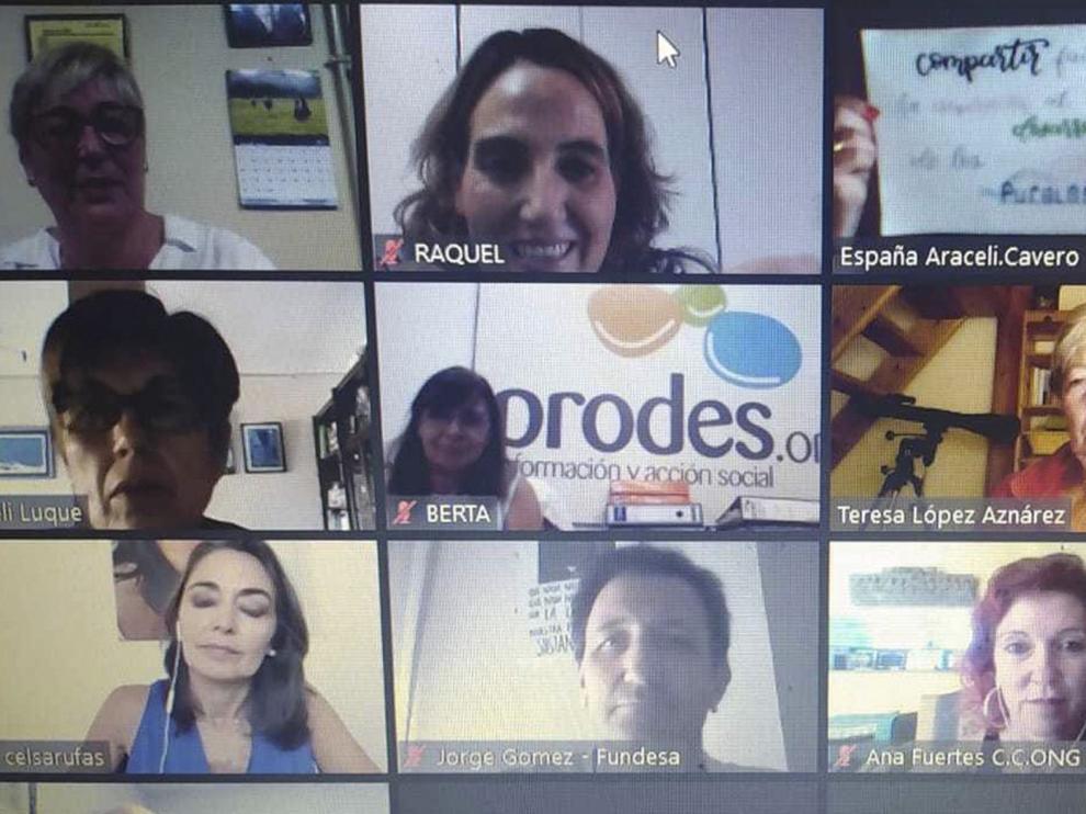 Prodes celebra virtualmente el Día del Cooperante en Huesca