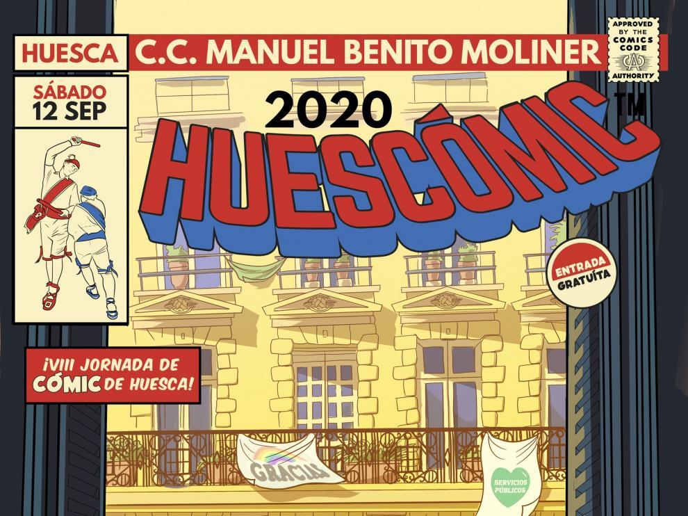 Álvaro Ortiz y Lorenzo Caudevilla, autores invitados de la octava edición de Huescómic