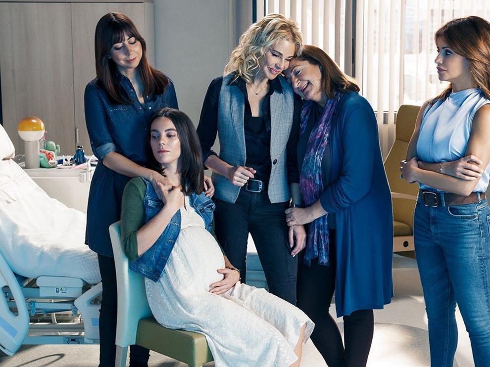"""Telecinco estrena esta noche en abierto la serie """"Madres. Amor y vida"""""""