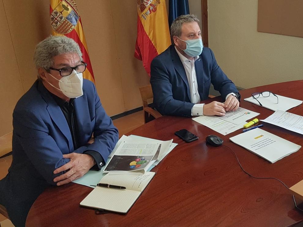 Soro traslada a Ábalos la necesidad de recuperar todos los servicios ferroviarios que se prestan en Aragón