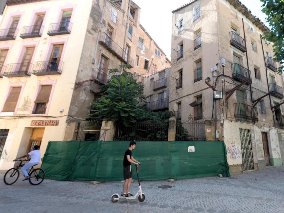 La Plataforma para la Defensa del Patrimonio de Huesca pide personarse en el expediente de los inmuebles de San Pedro