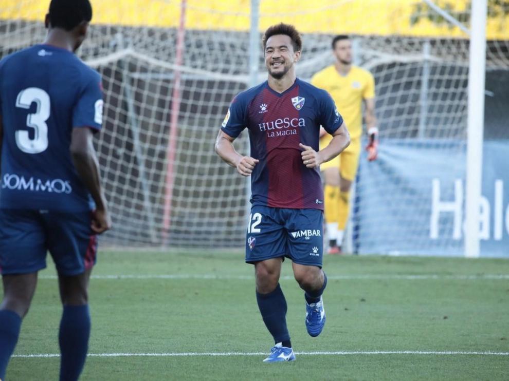 Okazaki, con la motivación de su debut en Primera