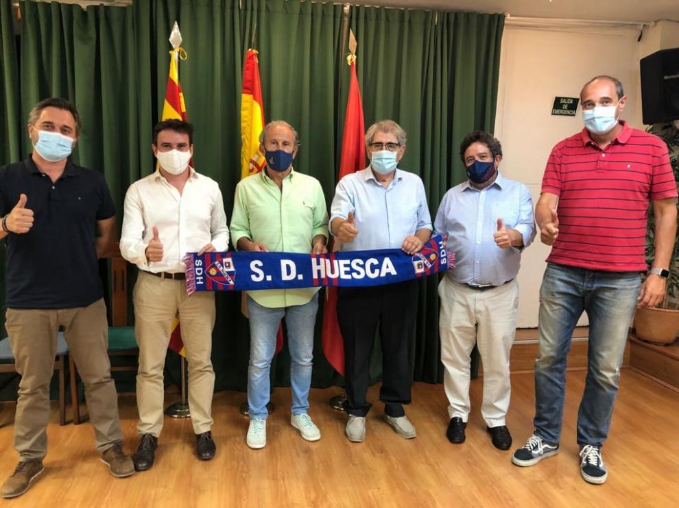 El Huesca tendrá su primera peña en Madrid