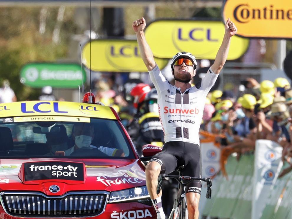 A la tercera fue la vencida en el Tour de Francia