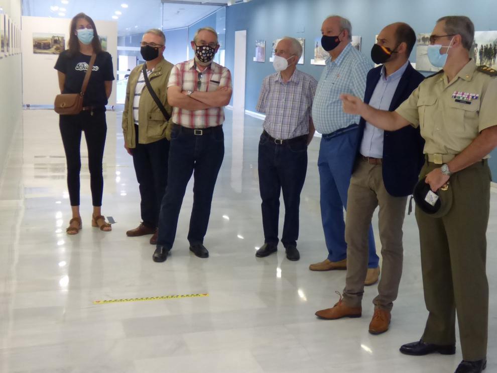"""Se inaugura en el Centro de Congresos de Barbastro la exposición """"Misión: Afganistán"""""""