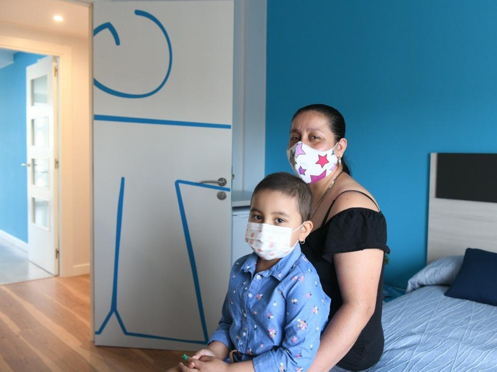 Aspanoa reinaugura su piso de acogida en Zaragoza para familias de niños con cáncer tras su reforma integral