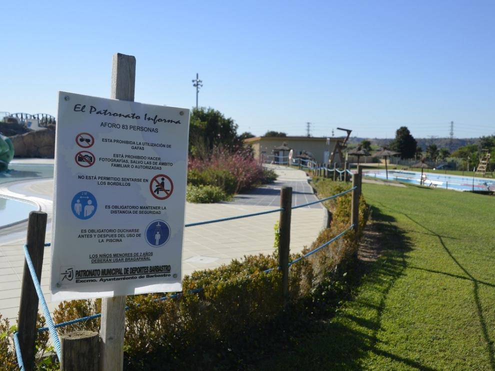 Las piscinas municipales de Barbastro cierran la temporada de verano con más de 22.000 usos