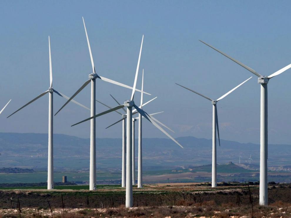 Forestalia tramita los proyectos de cien parques de renovables en las tres provincias de Aragón