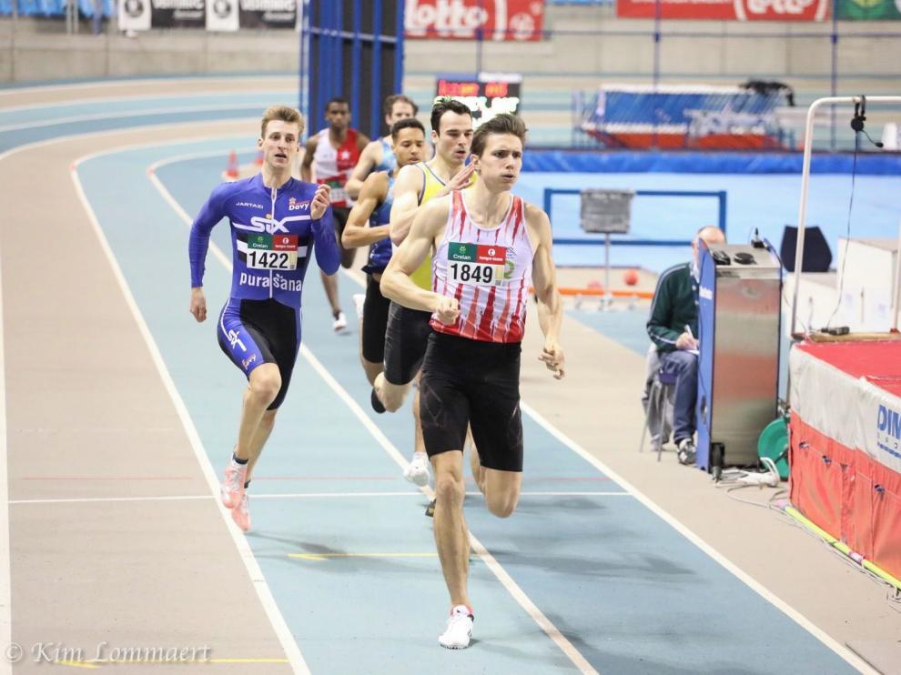 Nueve altoaragoneses en un Nacional de atletismo centenario en Madrid