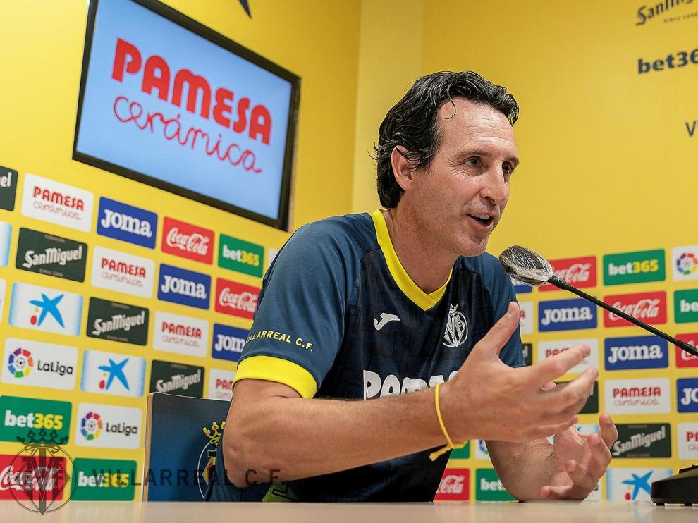 """Unai Emery, """"respeto"""" a """"un rival complicado"""" como el Huesca"""