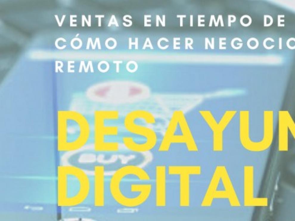 CeeiAragón organiza un nuevo desayuno digital sobre las ventas en tiempos de pandemia
