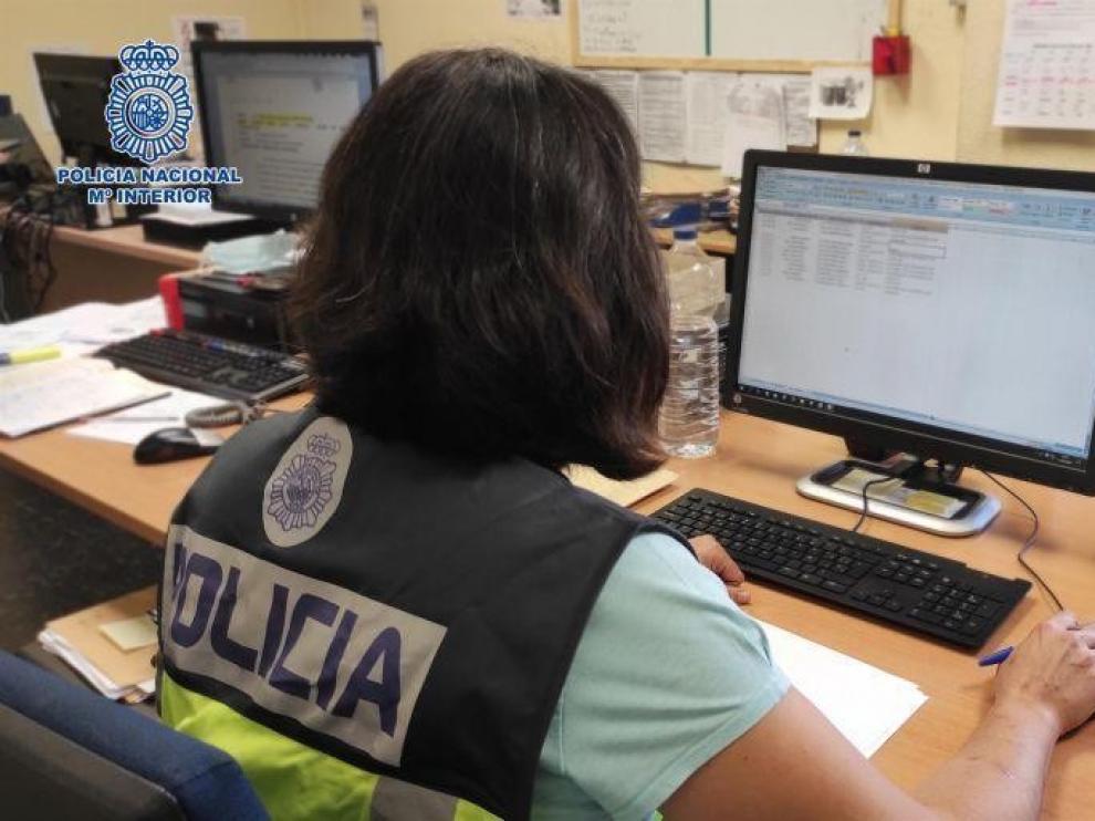 La Policía Nacional detiene en Zaragoza al integrante de una red organizada de compraventa fraudulenta en internet