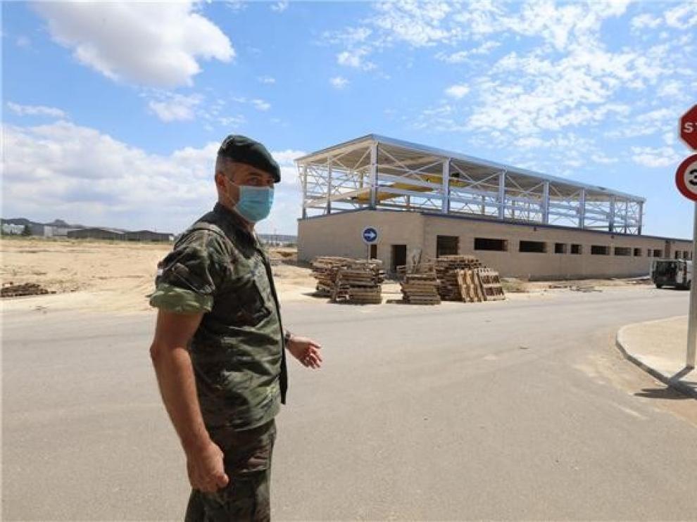 El Batallón de Transmisiones estará en Huesca antes de final de año