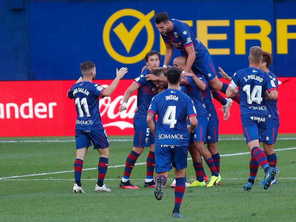 Puntazo del Huesca en Villarreal (1-1)