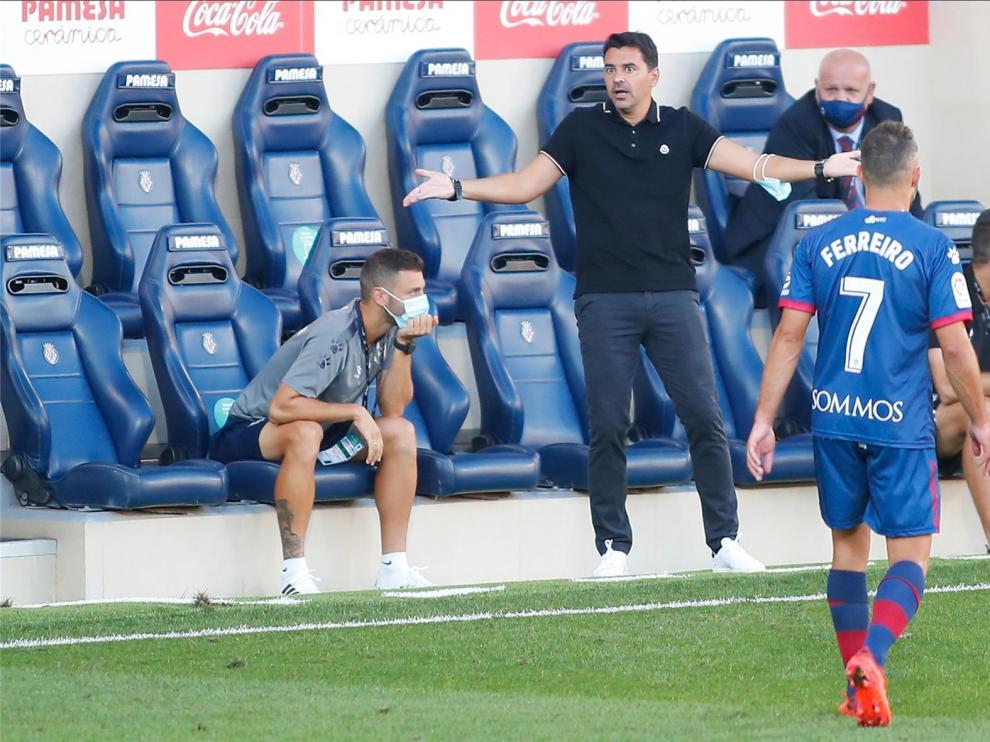 """Míchel, """"muy satisfecho con el rendimiento del equipo"""""""