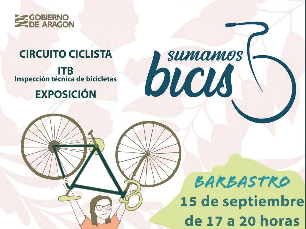 Actividades en Barbastro a favor del uso de la bicicleta