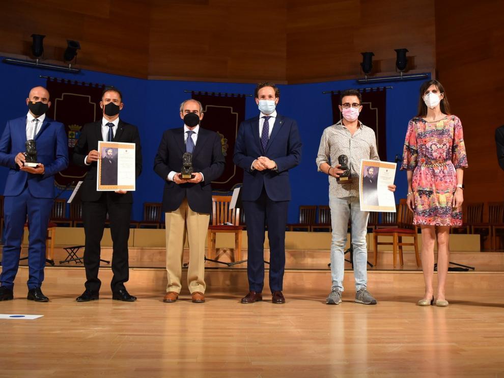 Emotiva entrega de los Premios Joaquín Costa en Monzón