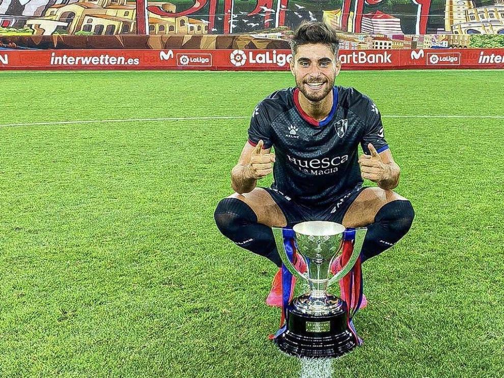 Kike Hermoso se despide del Huesca con cariño y gratitud