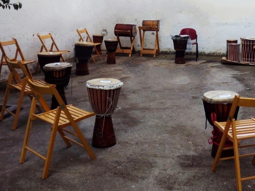 Nuevo taller de percusión africana para jóvenes en Huesca