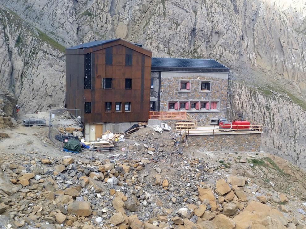 Cerrado por obras el refugio de Sarradets