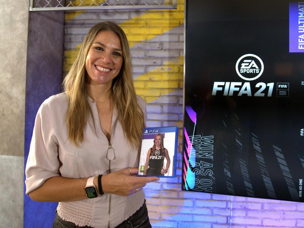 Nira Juanco, primera voz femenina en un videojuego Fifa