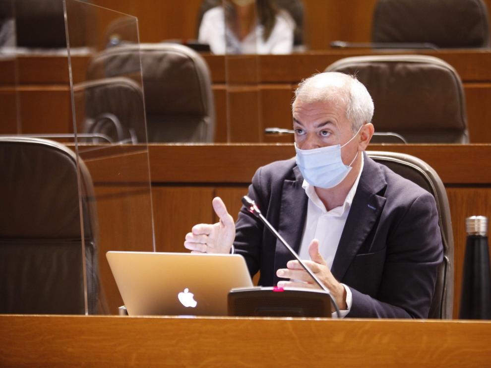 Las Cortes de Aragón piden elevar el reparto del fondo de reconstrución de la UE para empleo