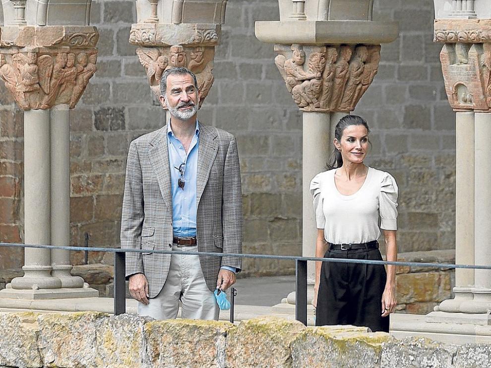 Los Reyes de España presiden el 125 aniversario de Heraldo de Aragón