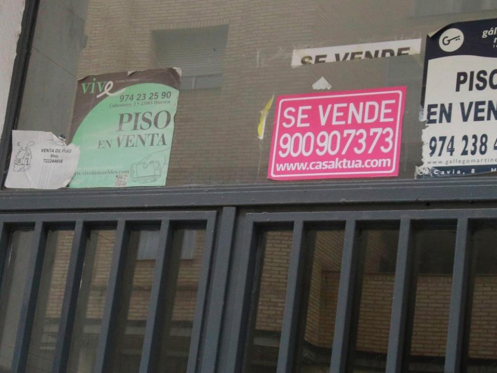 El mes de julio deja un agravamiento en la caída en compra de viviendas en la provincia