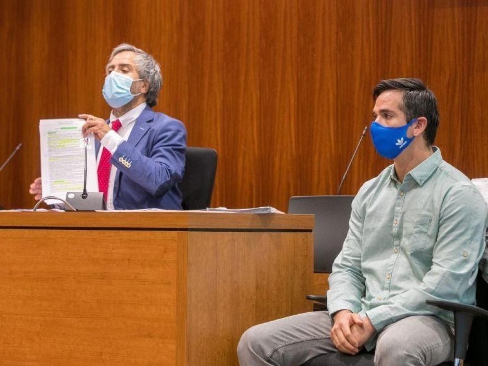 Visto para sentencia el juicio contra Rodrigo Lanza por la muerte de Víctor Laínez