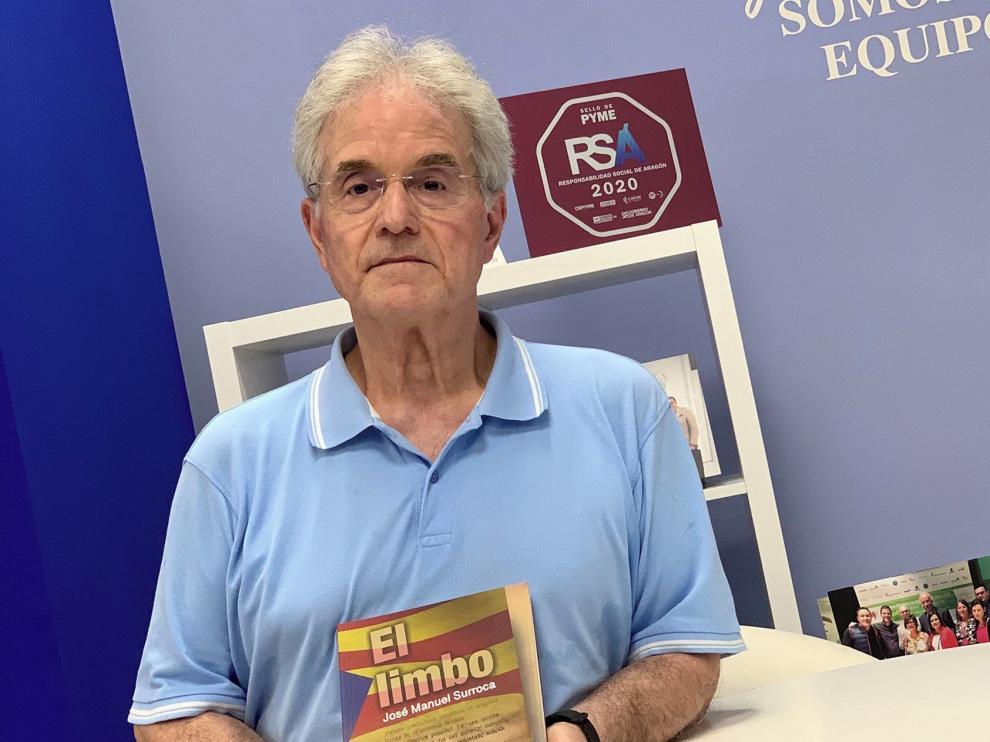 """Surroca presenta su último libro, """"El limbo"""", en el Principal de Zaragoza"""