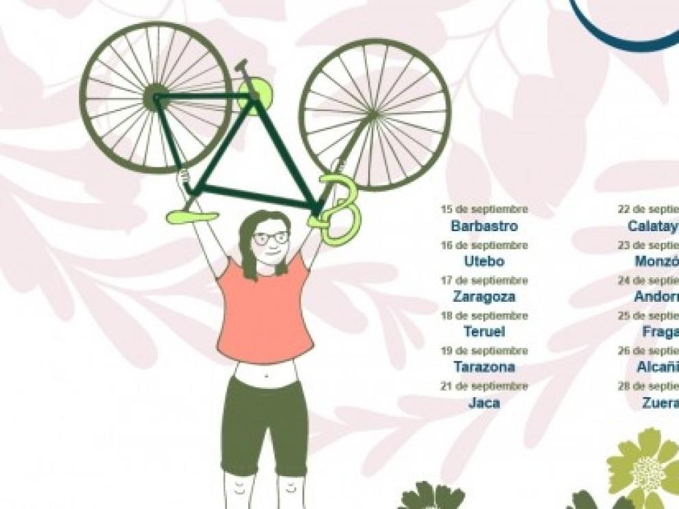 """""""Sumamos bicis"""" a la Semana Europea de Movilidad"""