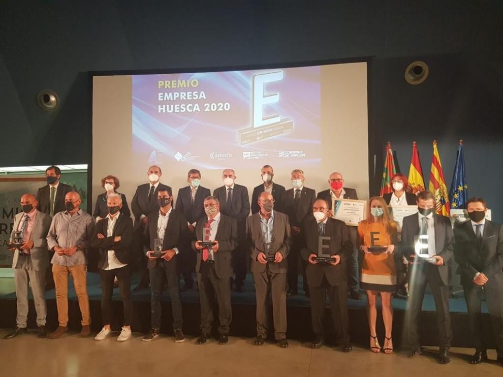 Podoactiva y Agropienso reciben el Premio Empresa Huesca 2020