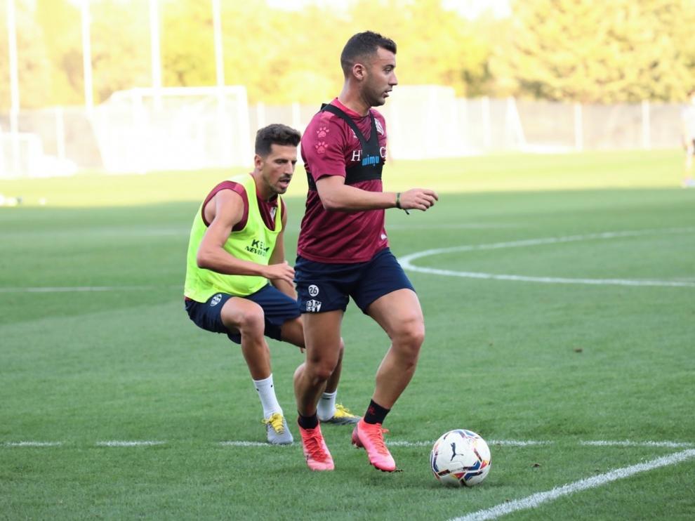 Borja García se incorpora a los entrenamientos