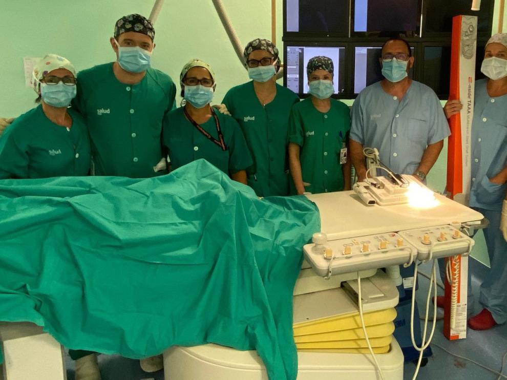 Nuevo tratamiento pionero para aneurismas de aorta en el Servet