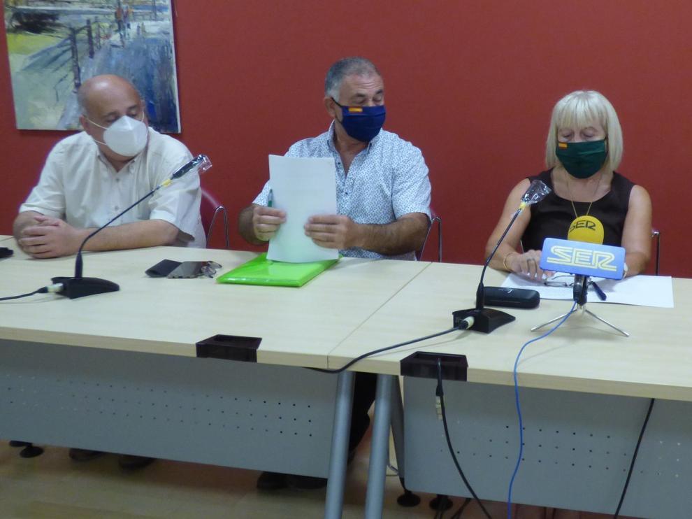 """Vox denuncia """"cierta parálisis institucional"""" en el ayuntamiento de Barbastro"""