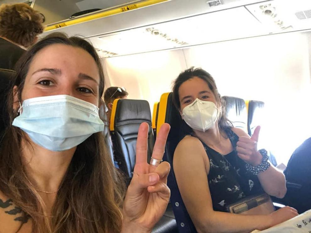 Julia Cuchí y Carmen Costa, un doblete histórico en el Europeo