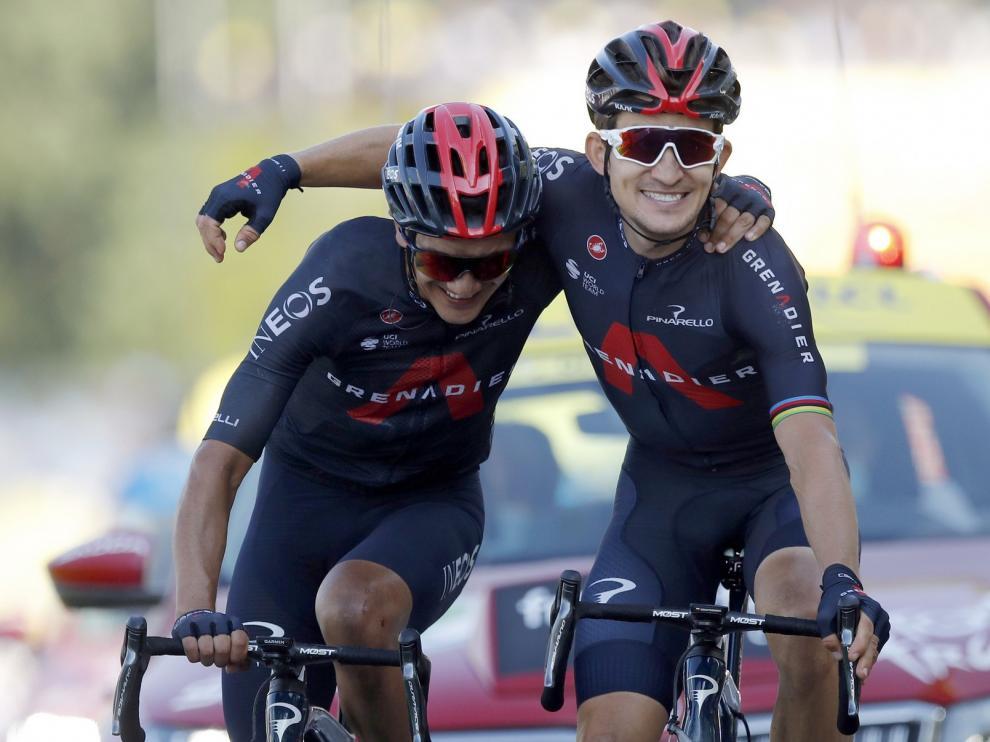 Ineos se da un homenaje en el Tour de Francia